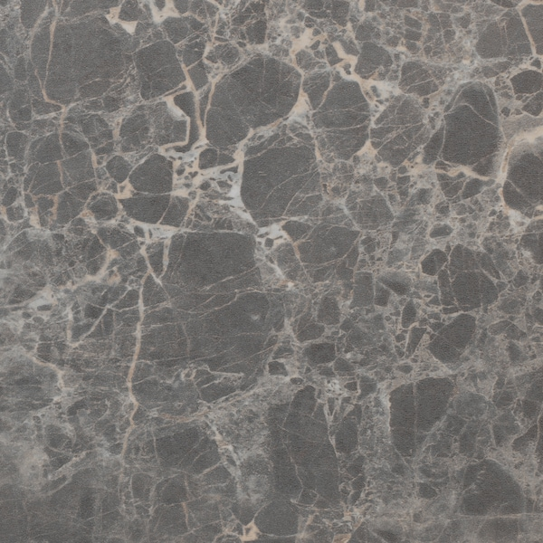 "EKBACKEN Countertop, dark gray marble effect/laminate, 74x1 1/8 """