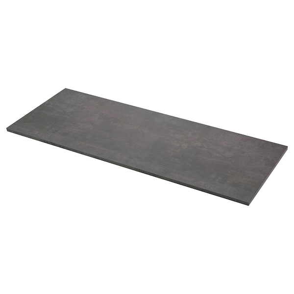 Ekbacken Countertop Concrete Effect Laminate 98x1 1 8 Ikea
