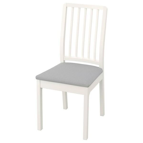 Prime Chair Ekedalen White Orrsta Light Gray Evergreenethics Interior Chair Design Evergreenethicsorg