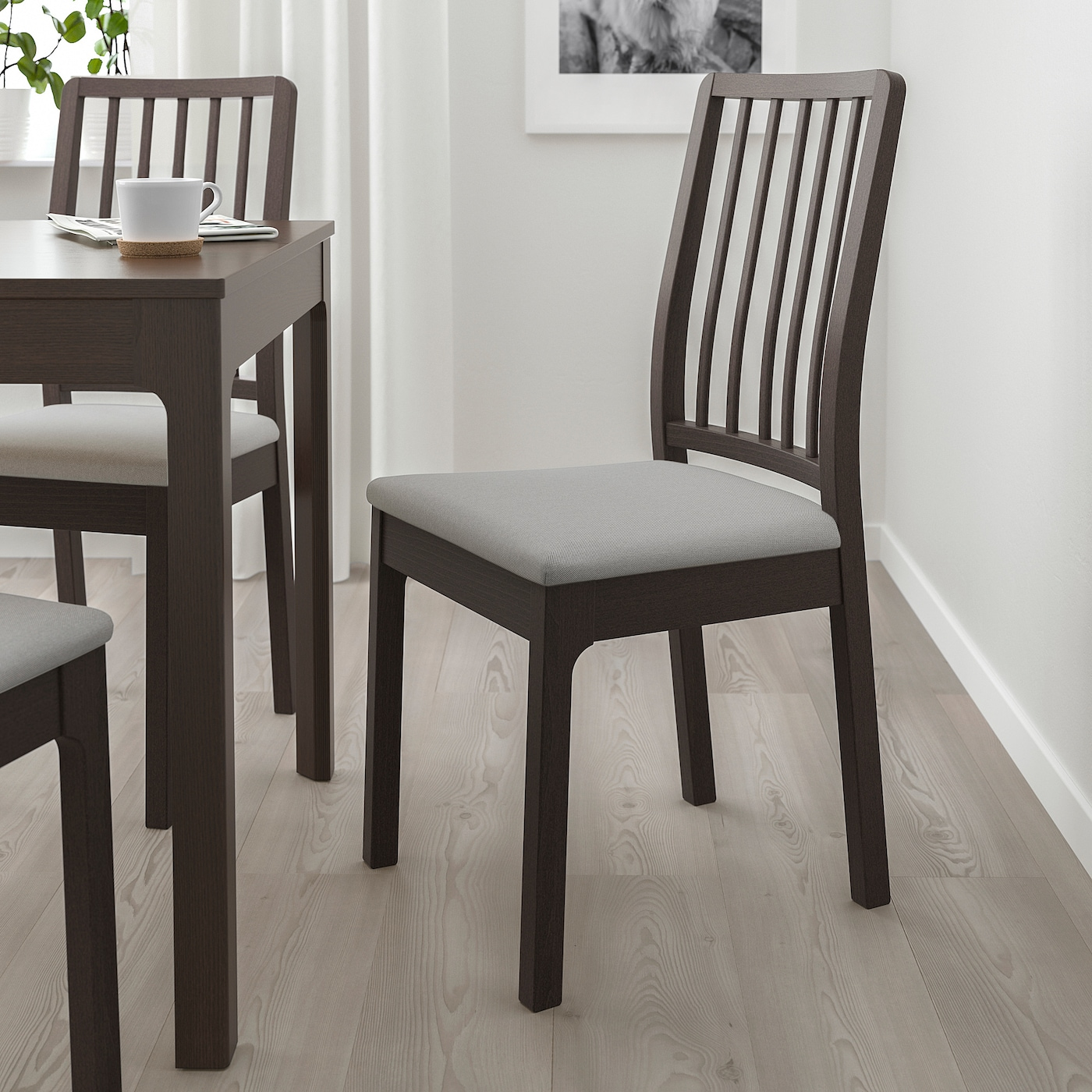 New Ikea comfortable of long dinners EKEDALEN chair multiple colors available