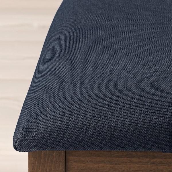 "EKEDALEN chair brown/Orrsta light gray 243 lb 17 3/4 "" 20 1/8 "" 37 3/8 "" 17 3/4 "" 15 3/8 "" 18 7/8 """