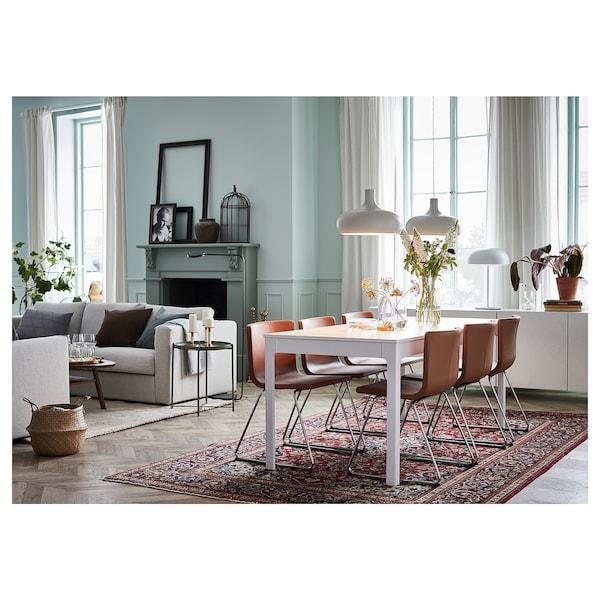 Ekedalen Extendable Table White Min Length 70 7 8 Ikea