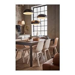 Ekedalen Extendable Table Dark Brown