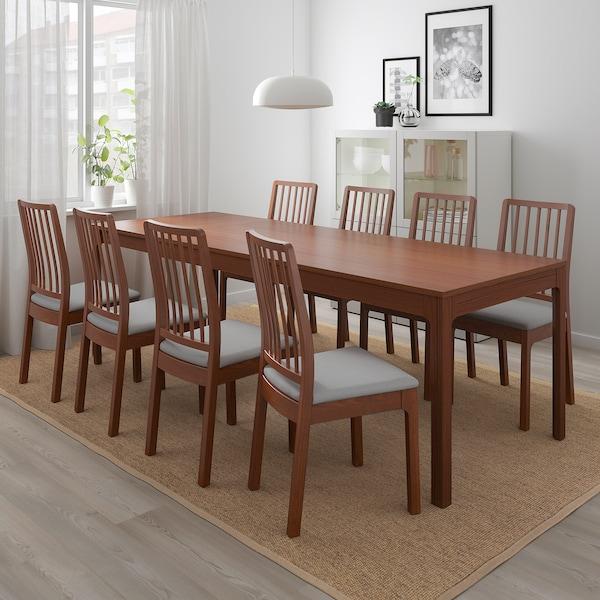 "EKEDALEN extendable table brown 70 7/8 "" 94 1/2 "" 35 3/8 "" 29 1/2 """