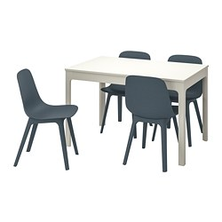 Fine Dining Sets With 4 Chairs Ikea Beutiful Home Inspiration Ommitmahrainfo