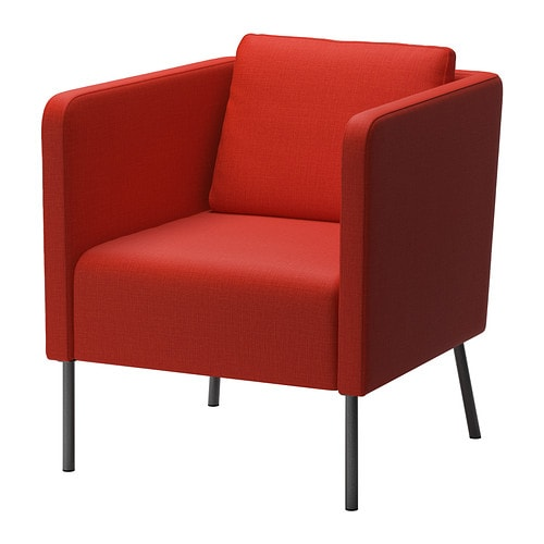 Eker chair skiftebo orange ikea - Fauteuil orange ikea ...