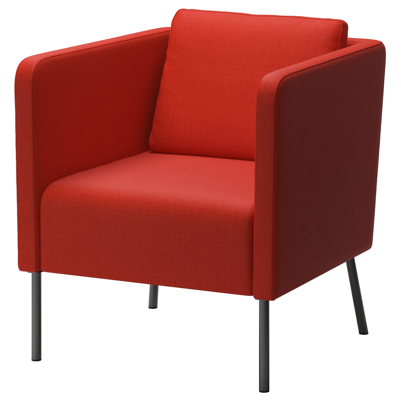 EKERÖ Armchair, Skiftebo orange - IKEA