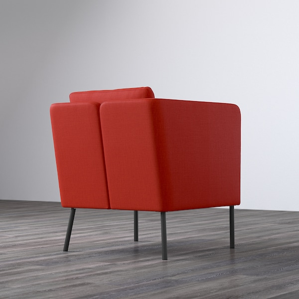 EKERÖ Armchair, Skiftebo orange