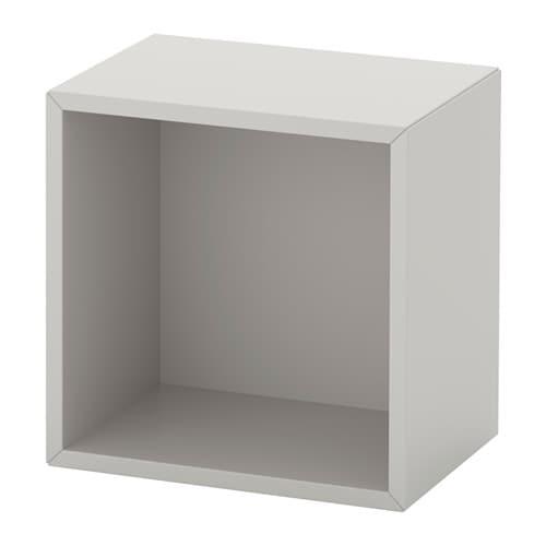 Eket cabinet light gray ikea - Armoire casier metal ikea ...
