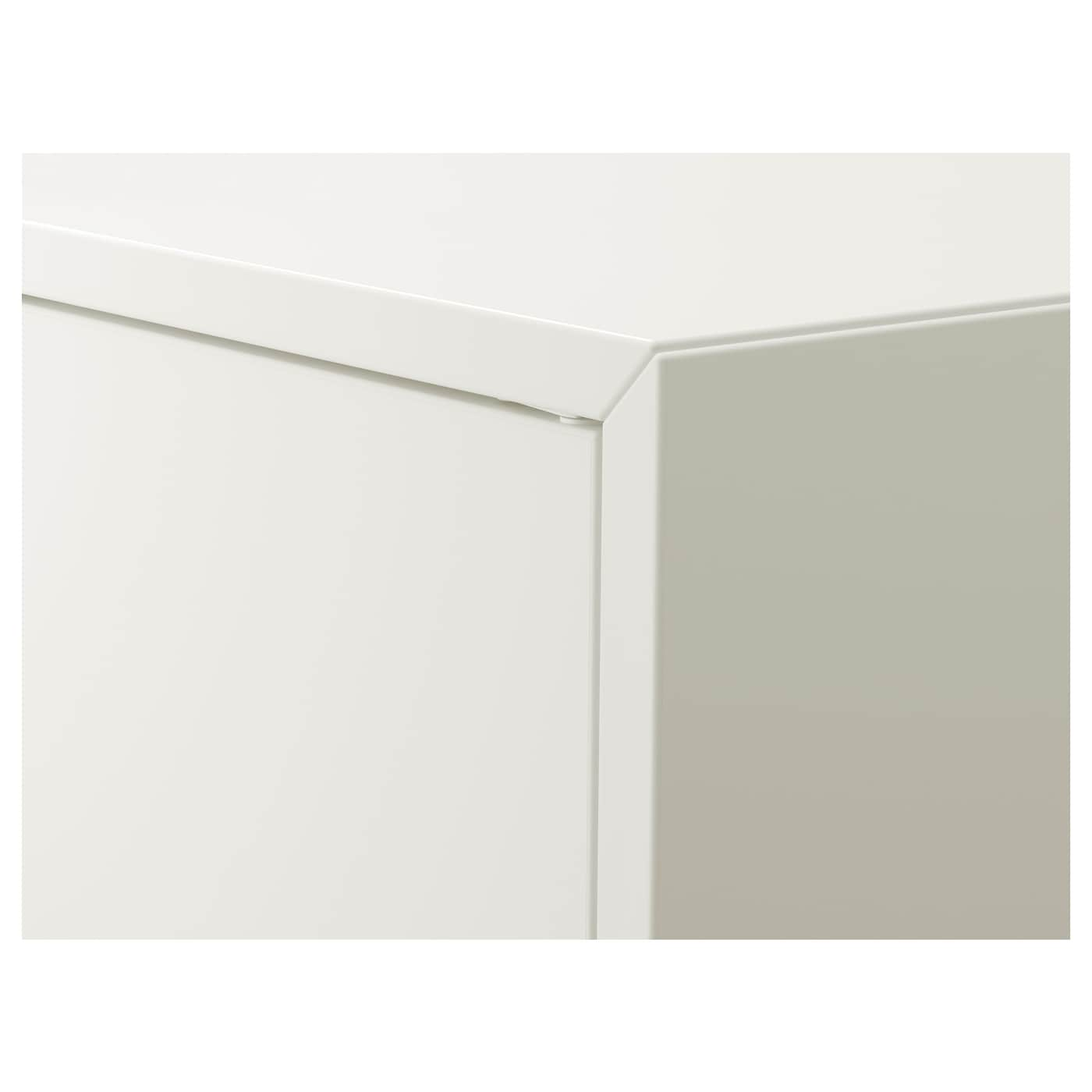 """EKET Cabinet with 2 doors and shelf, white, 27 1/2x13 3/4x27 1/2 """""""