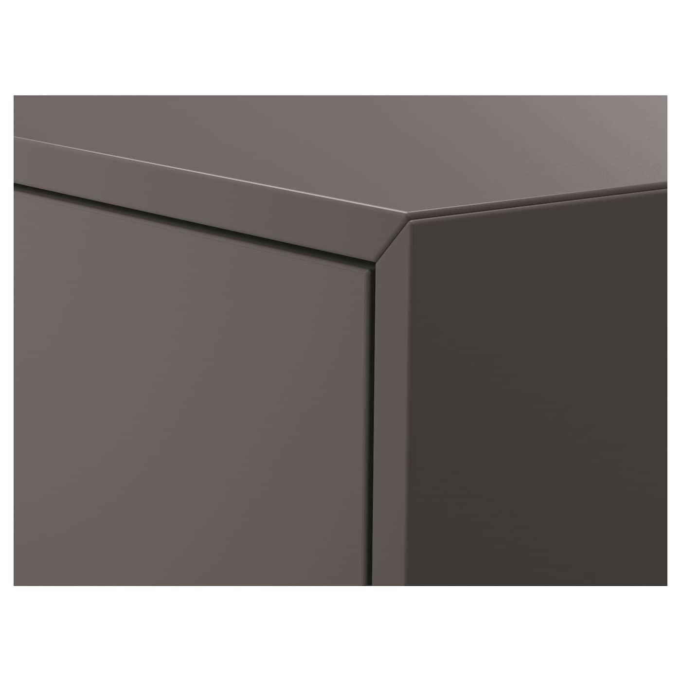 """EKET Cabinet with door, dark gray, 13 3/4x13 3/4x13 3/4 """""""