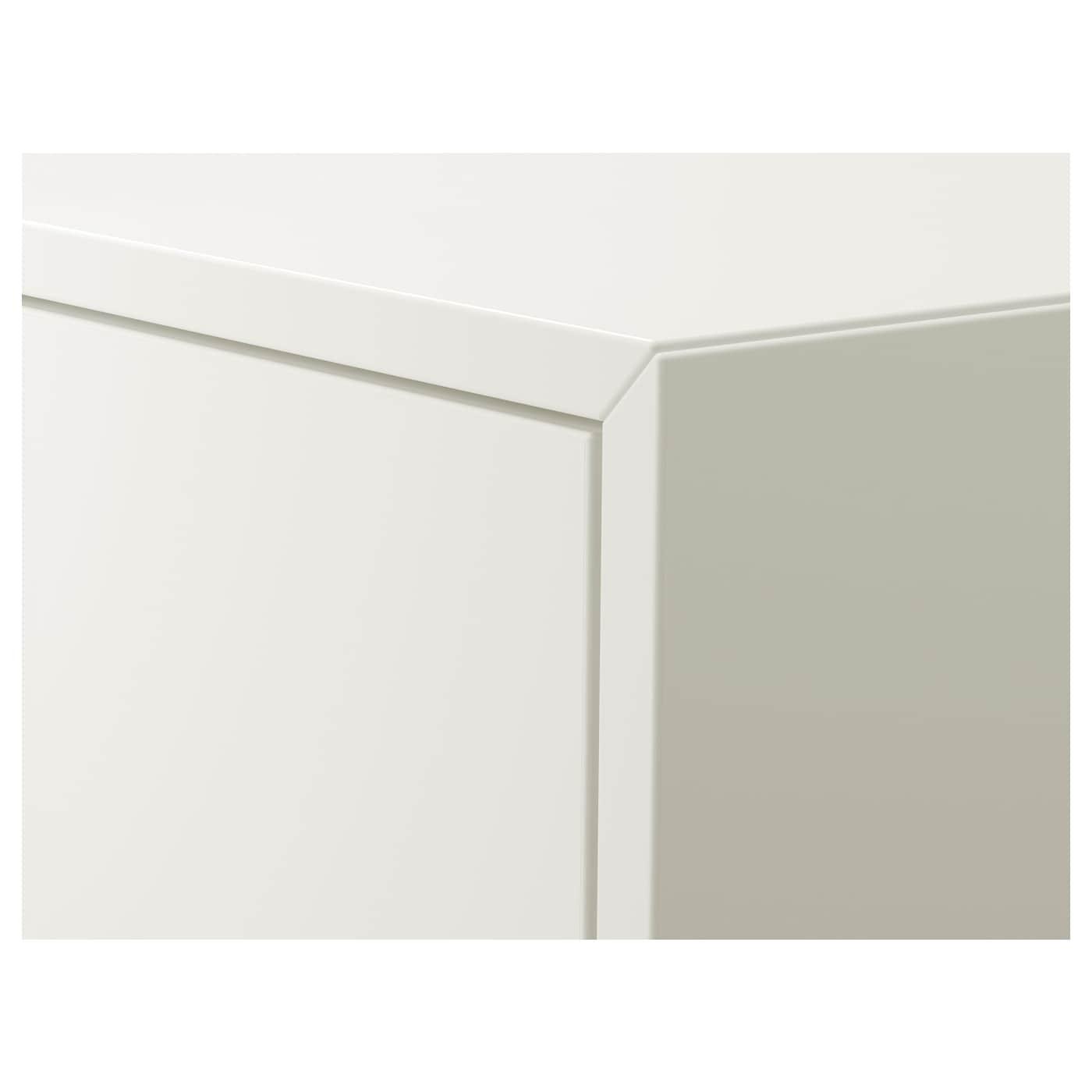 """EKET Cabinet with door, white, 13 3/4x13 3/4x13 3/4 """""""