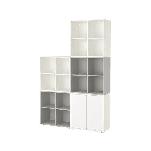 EKET Storage combination with feet IKEA An asymmetrical storage ...
