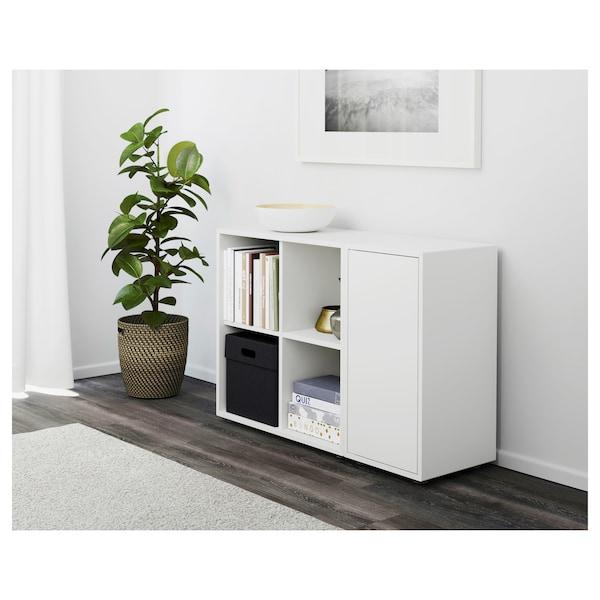 "EKET Storage combination with feet, white, 41 3/8x13 3/4x28 3/8 """
