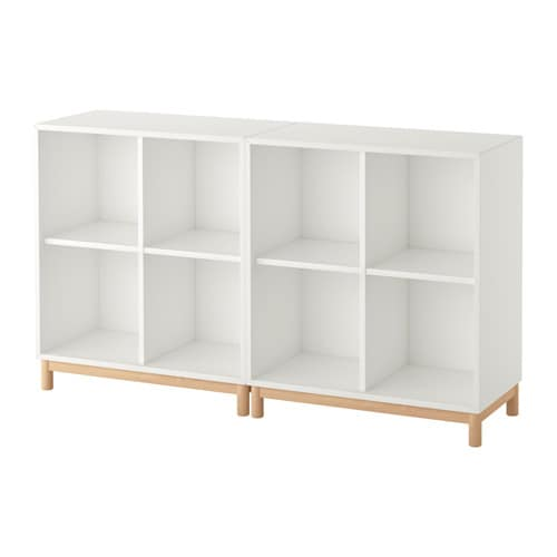 Eket Storage Combination With Legs White Ikea