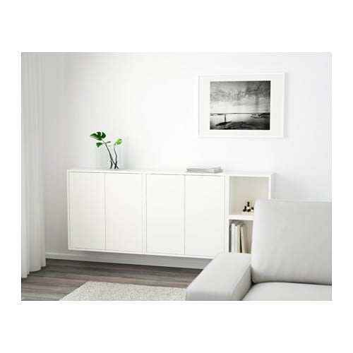 Phenomenal Eket Wall Mounted Cabinet Combination White Download Free Architecture Designs Rallybritishbridgeorg