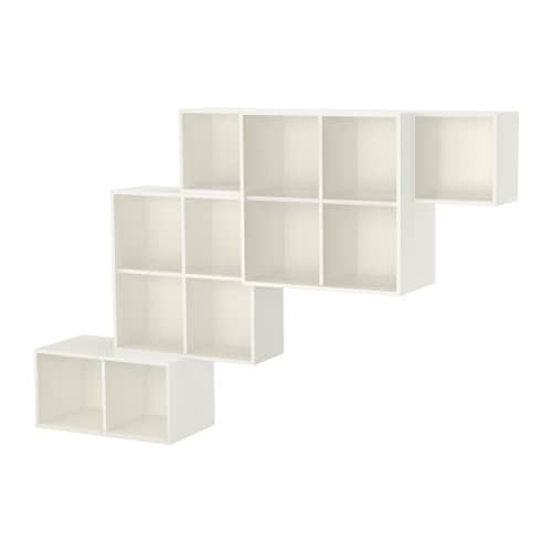 EKET Wall-mounted cabinet combination  sc 1 st  Ikea & EKET Wall-mounted cabinet combination - white - IKEA