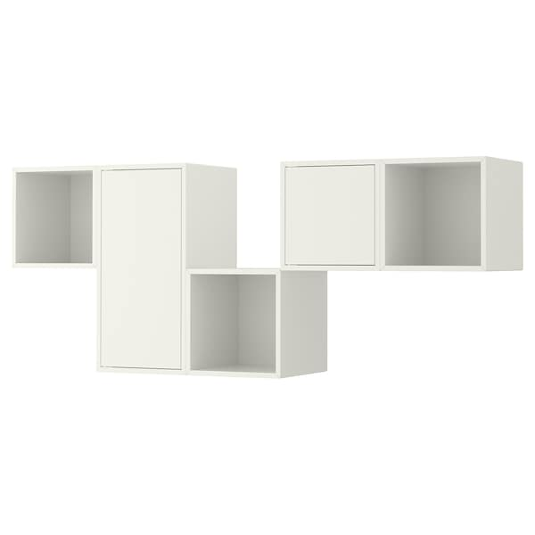 EKET Wall-mounted cabinet combination, white, 68 7/8x13 3/4x27 1/2 ""
