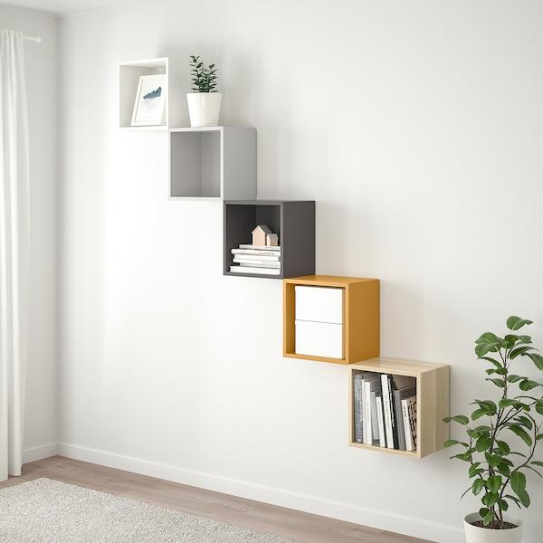 Eket Wall Mounted Storage Combination Multicolor 1 Ikea