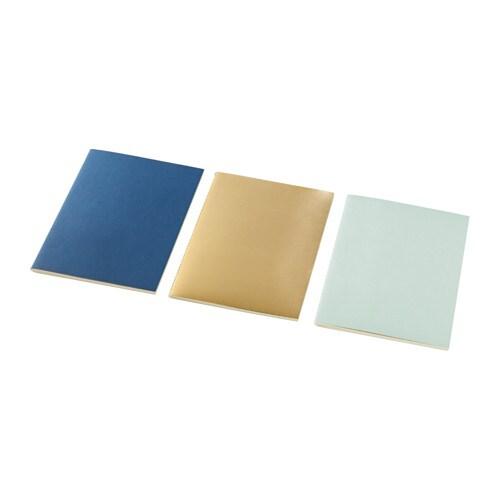 EKLOG Notebook, green gold, dark blue
