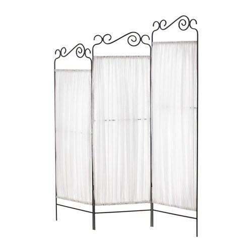 EKNE Room divider IKEA Practical screen and room divider.  Foldable - saves space when not in use.