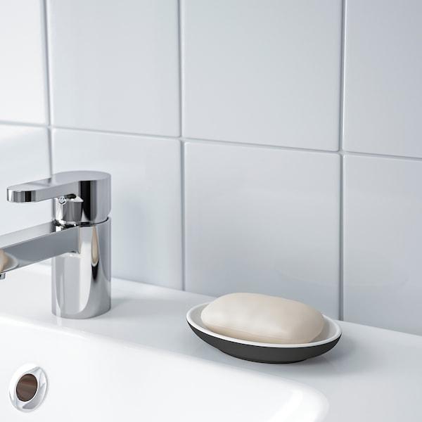 EKOLN Soap dish, dark gray