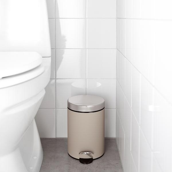 EKOLN Trash can, beige