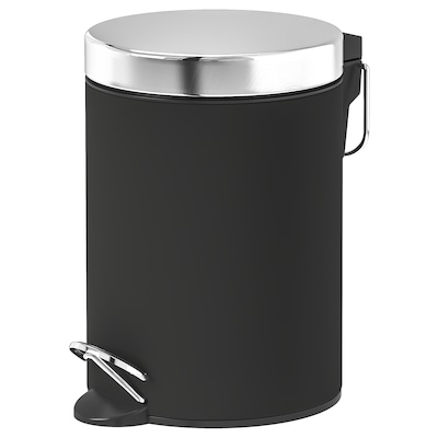 "EKOLN trash can dark gray 9 1/2 "" 6 3/4 "" 1 gallon"