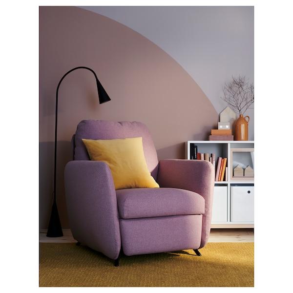 "EKOLSUND recliner Gunnared light brown-pink 35 "" 38 1/4 "" 40 1/2 "" 24 "" 23 1/4 "" 17 3/4 """