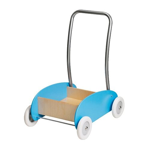 EKORRE Toddle wagon/walker IKEA When walking by themself, a child develops motor skills and balance.