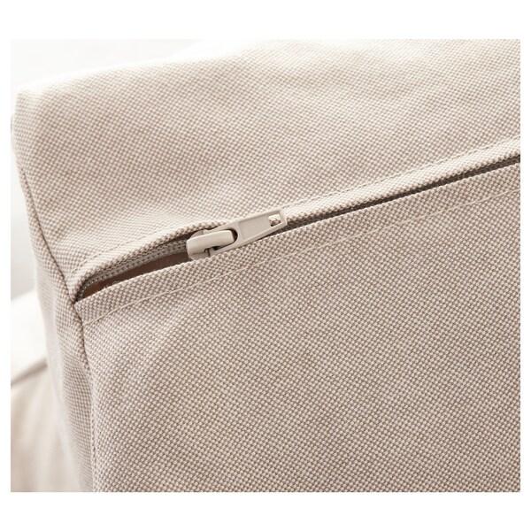 EKTORP 3.5-seat sofa, Lofallet beige