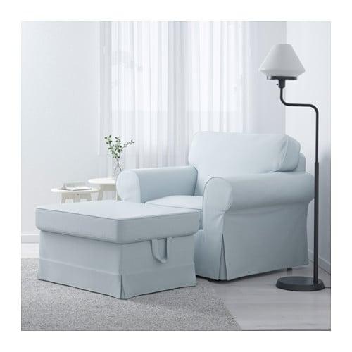 EKTORP Armchair   Nordvalla Light Blue   IKEA
