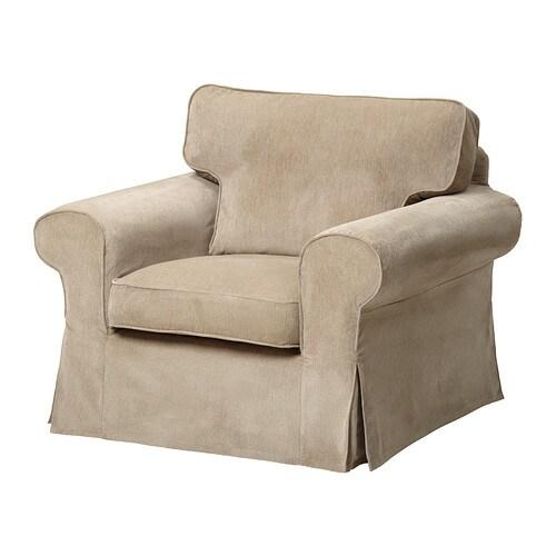 EKTORP Chair cover - Vellinge beige - IKEA