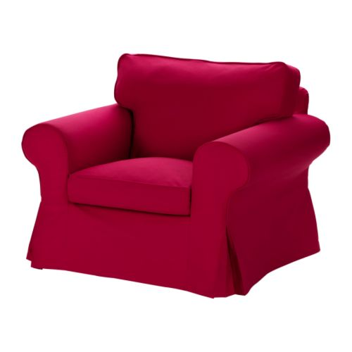 ektorp chair idemo red ikea. Black Bedroom Furniture Sets. Home Design Ideas
