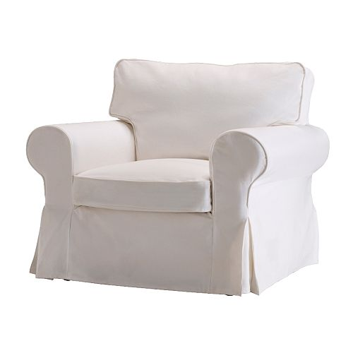 EKTORP Chair IKEA Easy to keep clean with a removable,machine washable cover.