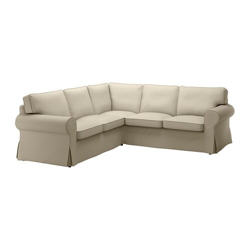 ektorp corner sofa 2 2 slipcover tygelsj 246 beige ikea