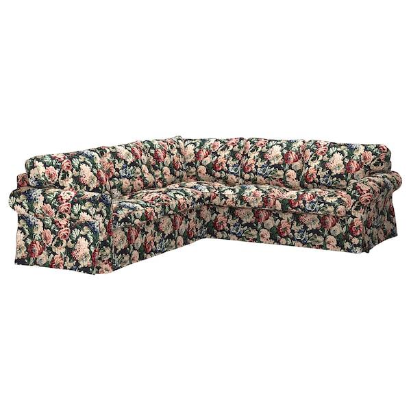 Sensational Sectional 4 Seat Corner Ektorp Lingbo Multicolor Evergreenethics Interior Chair Design Evergreenethicsorg