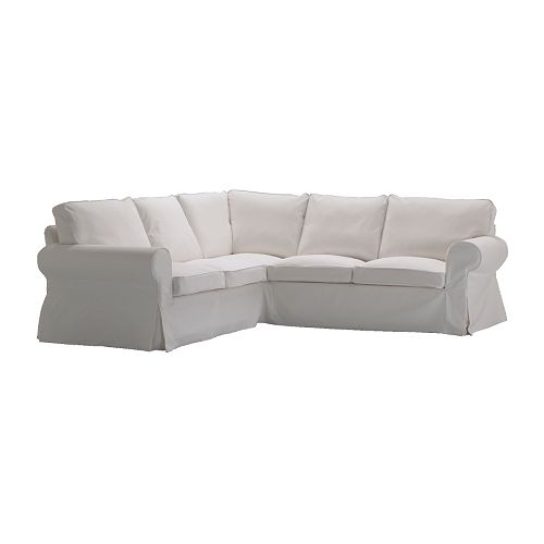 EKTORP Corner sofa 2+2 IKEA Easy to keep clean with a removable,machine washable cover.