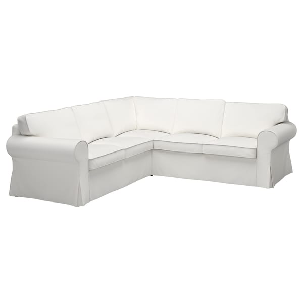 EKTORP cover for sectional, 4-seat Vittaryd white