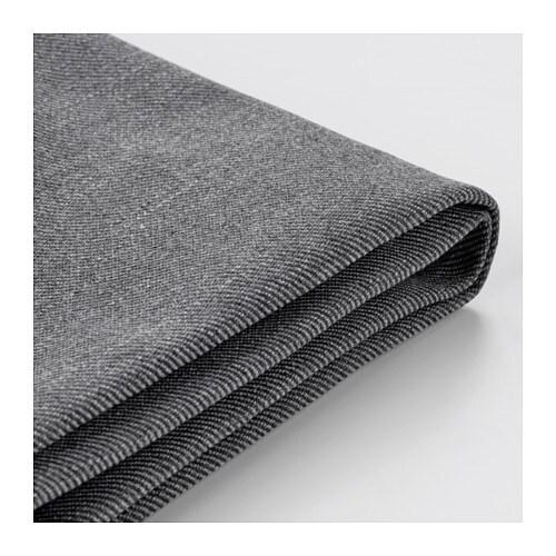 Ektorp Cover For Ottoman Nordvalla Dark Gray Ikea