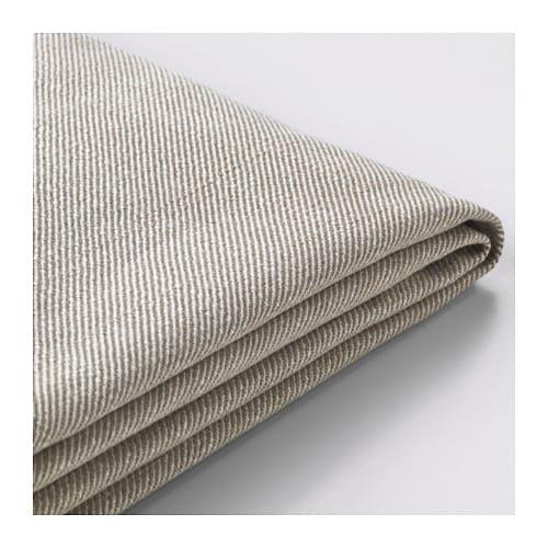 Sofa ikea ektorp  EKTORP Cover for 4-seat corner sectional - Lofallet beige - IKEA