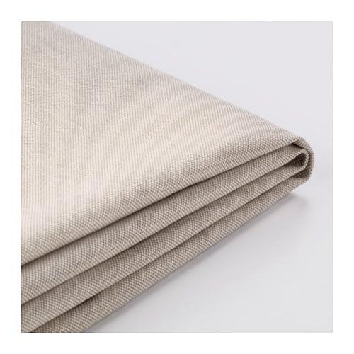 EKTORP Cover for sectional, 4-seat, Lofallet beige Lofallet beige