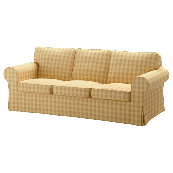 Brilliant Sofa Cover Ektorp Skaftarp Yellow Short Links Chair Design For Home Short Linksinfo