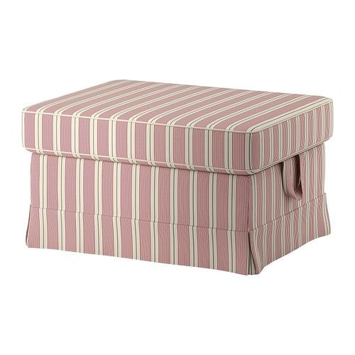 ektorp footstool mobacka beige red ikea. Black Bedroom Furniture Sets. Home Design Ideas