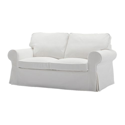 Ektorp loveseat cover blekinge white ikea White loveseat slipcovers
