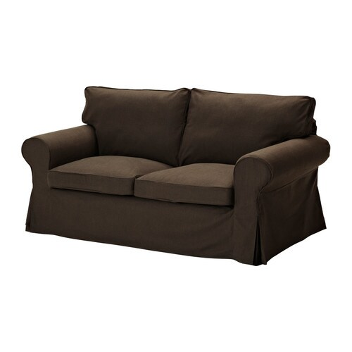 EKTORP Loveseat cover IKEA Easy to keep clean with removable, dry clean only cover.