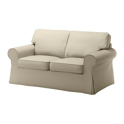 EKTORP Loveseat cover IKEA The cover is easy to keep clean as it is