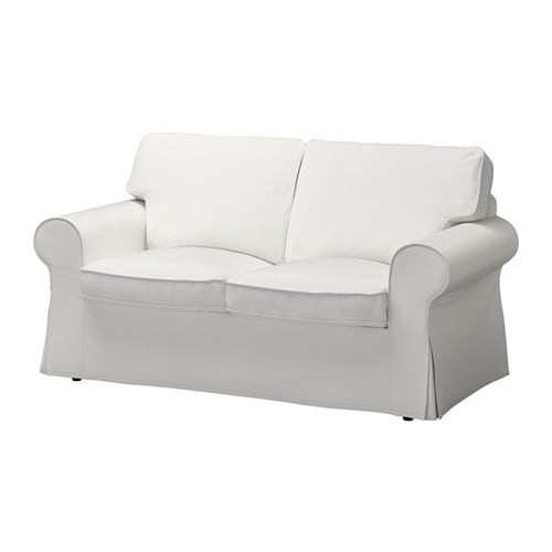 Ektorp loveseat vittaryd white ikea Small white loveseat