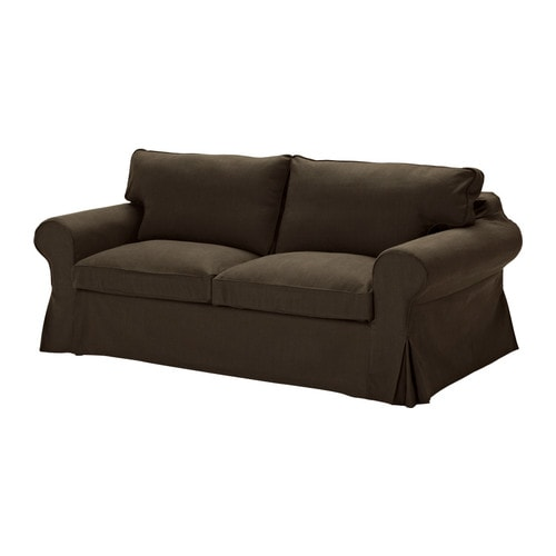 EKTORP Sofa bed IKEA Easy to keep clean with removable, dry clean only cover.  Easily converts into a full size bed for two.