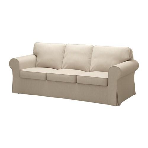 Ektorp sofa nordvalla dark beige ikea - Sillones jardin ikea ...